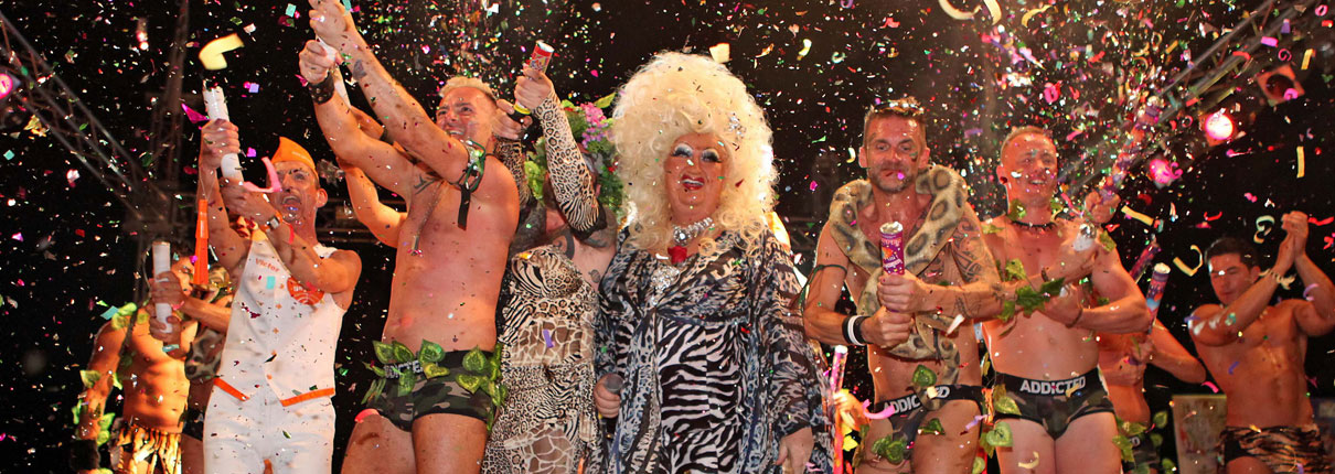 Gay Pride Sitges stage acts