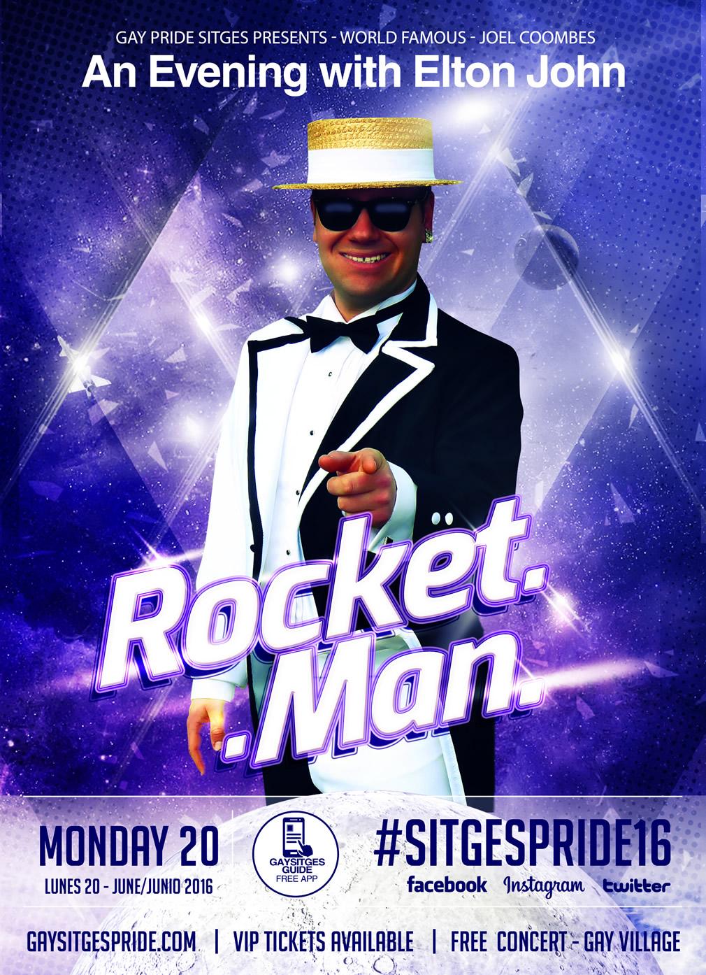 Rocket Man Elton John Sitges