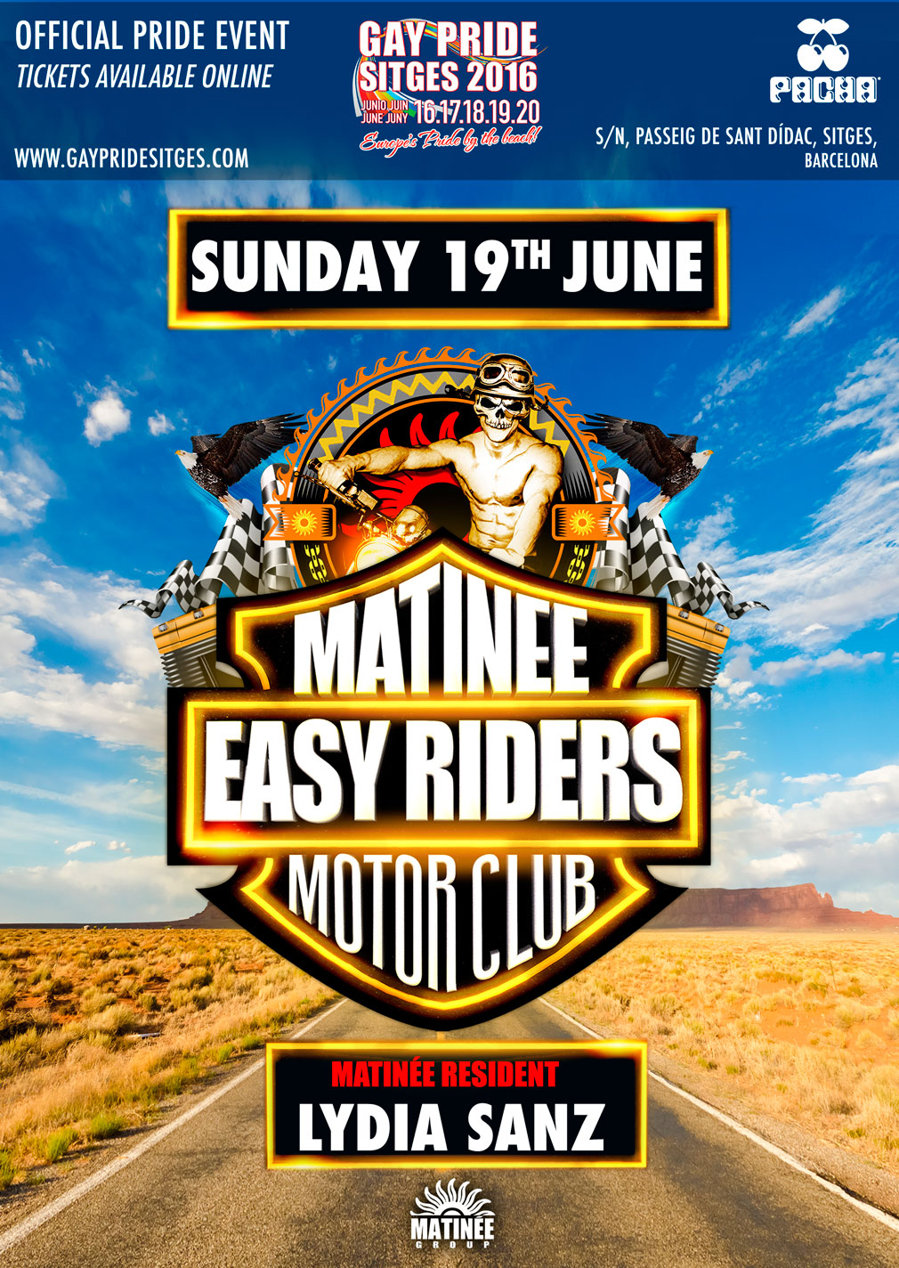 Matinee Easy Riders
