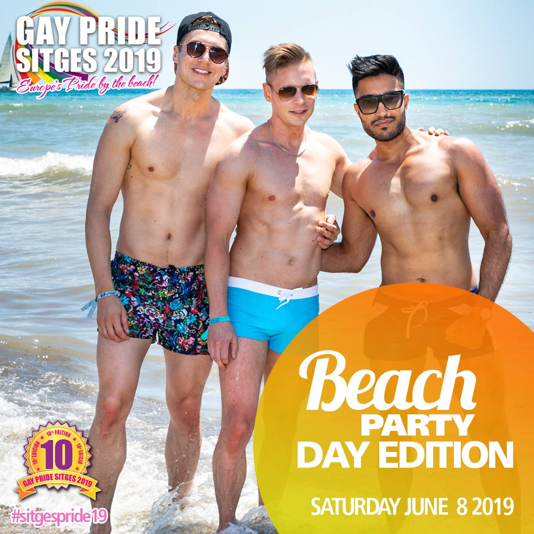 Beach party Pride Edition