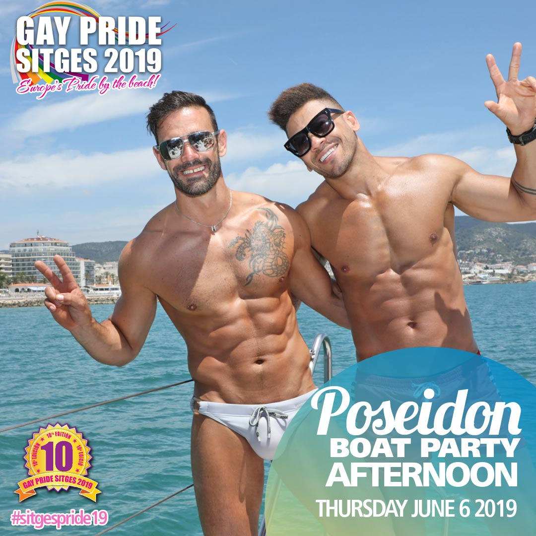 Poseidon Boat Party
