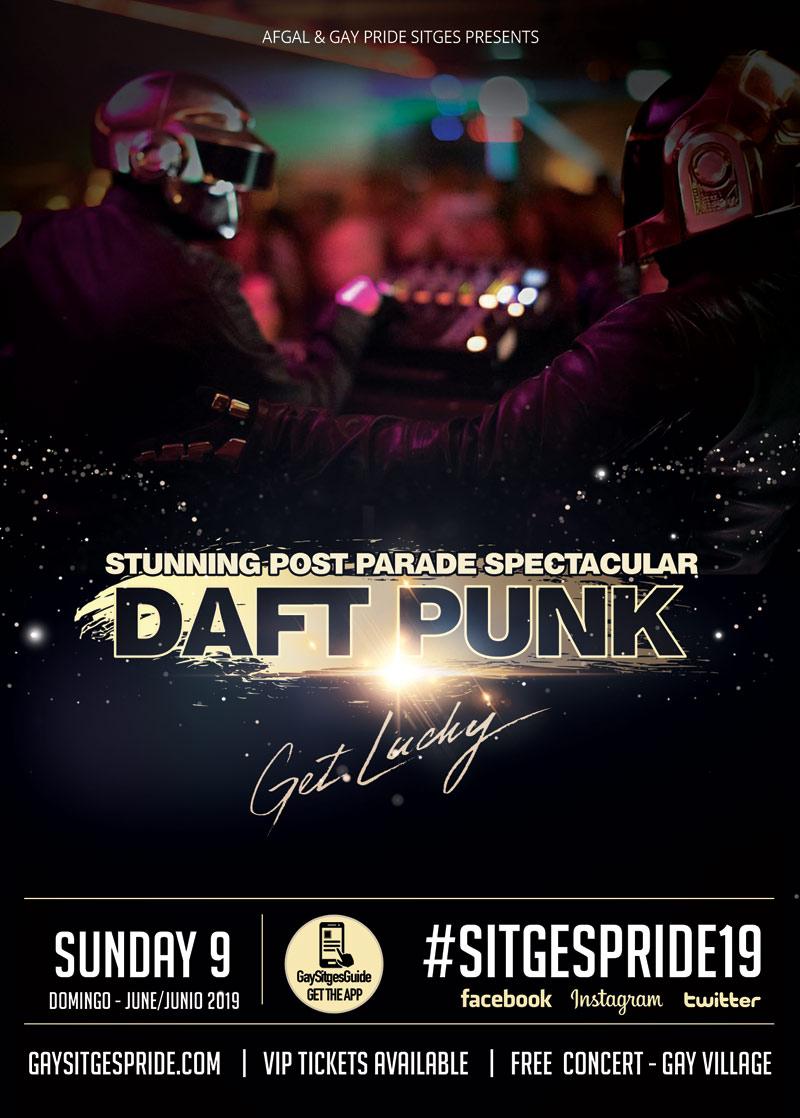 Daft Punk Sitges Pride 2019