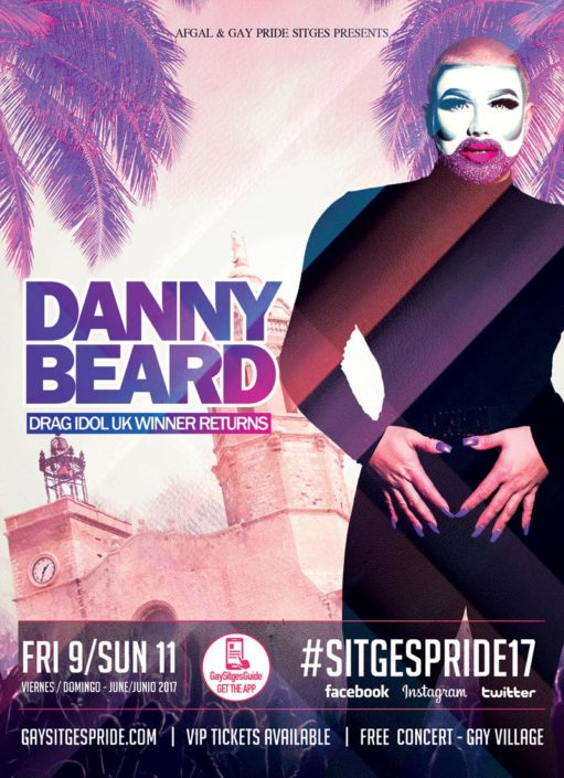 Danny Beard Sitges Pride