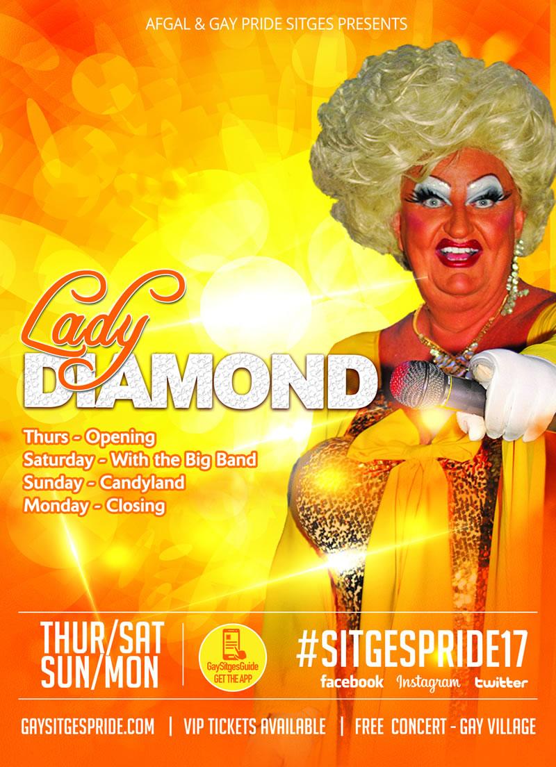 Lady Diamond Sitges