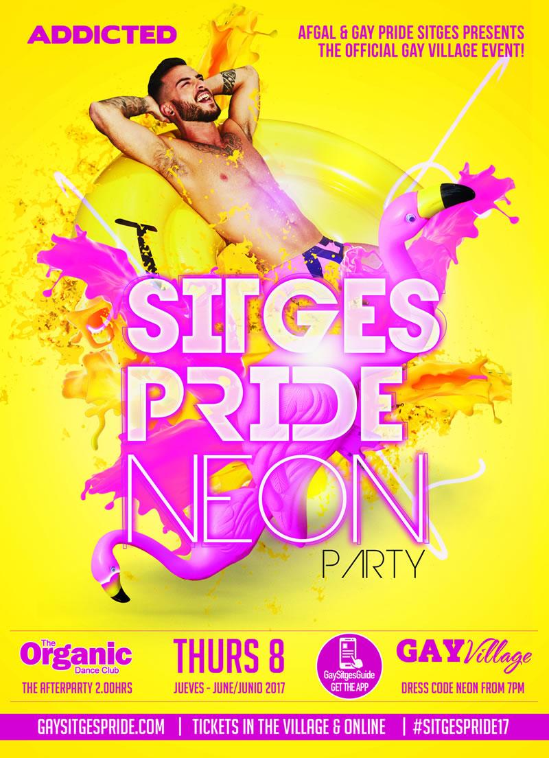 Pride Neon Party Sitges