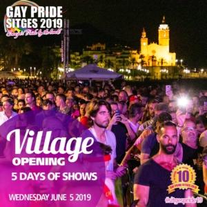 Sitges Village Opening Pride 2019