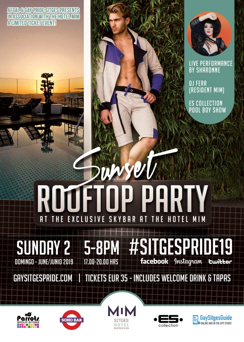 Rooftop Pool Party