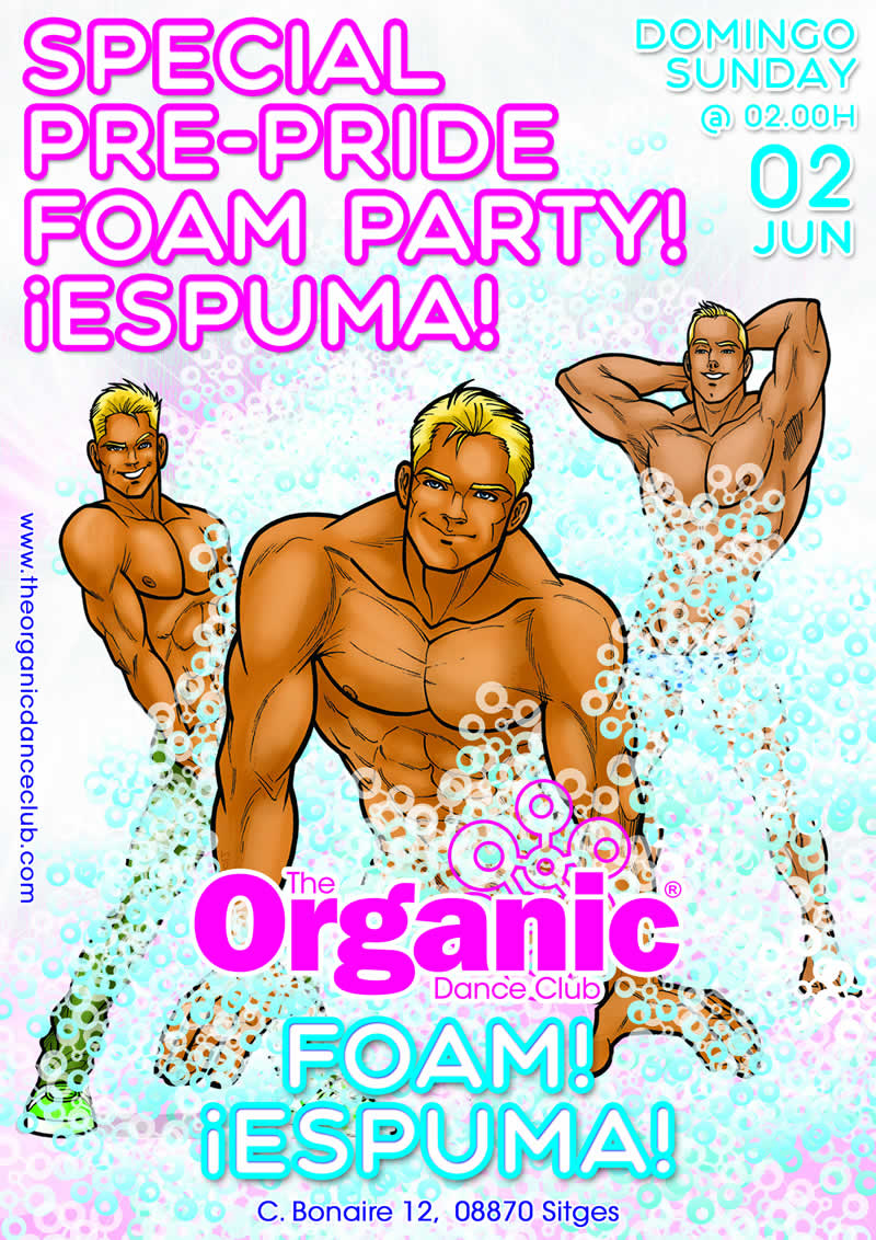 Sitges Pride Foam Party 2019