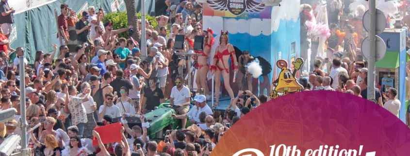 Sitges Pride Main Event - The Parade