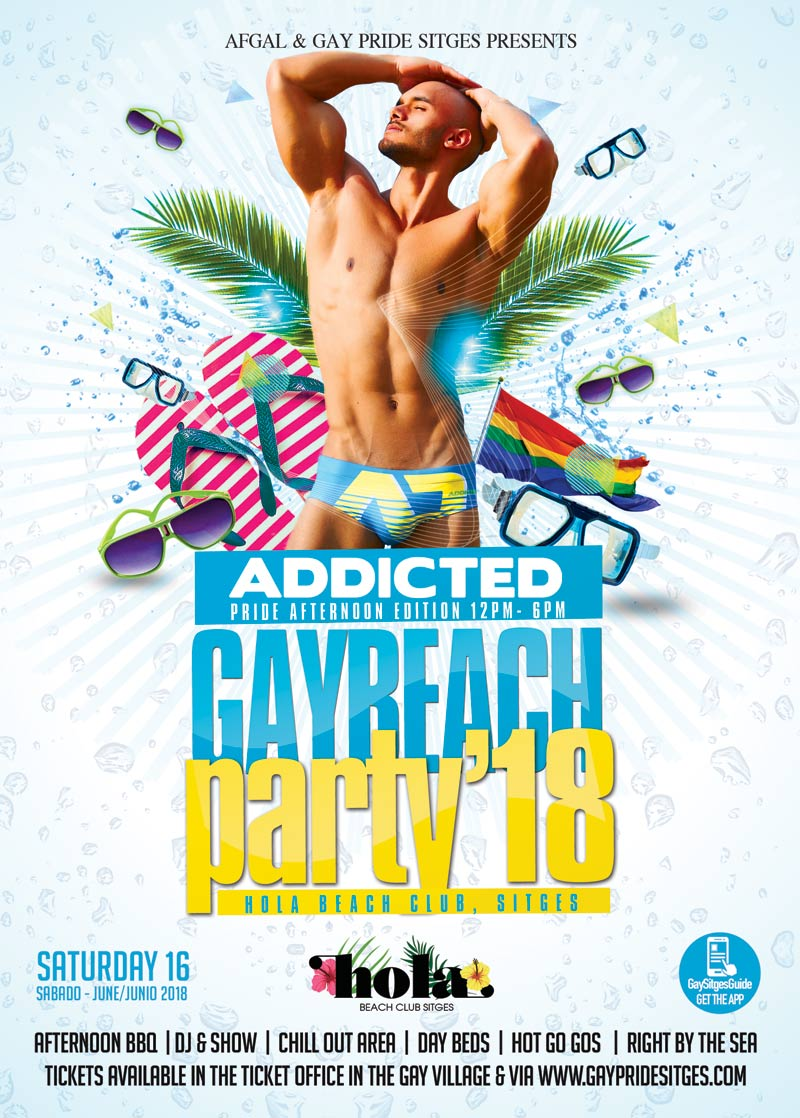 Sitges Pride Foam Party - The Pre Party 2018