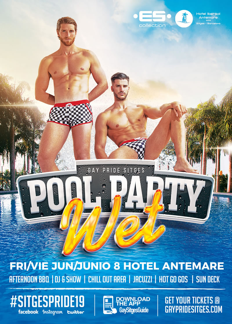 Wet The Sitges Pride Pool Party 2019