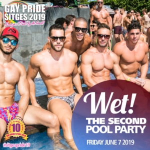 Wet Sitges Pride Pool Party