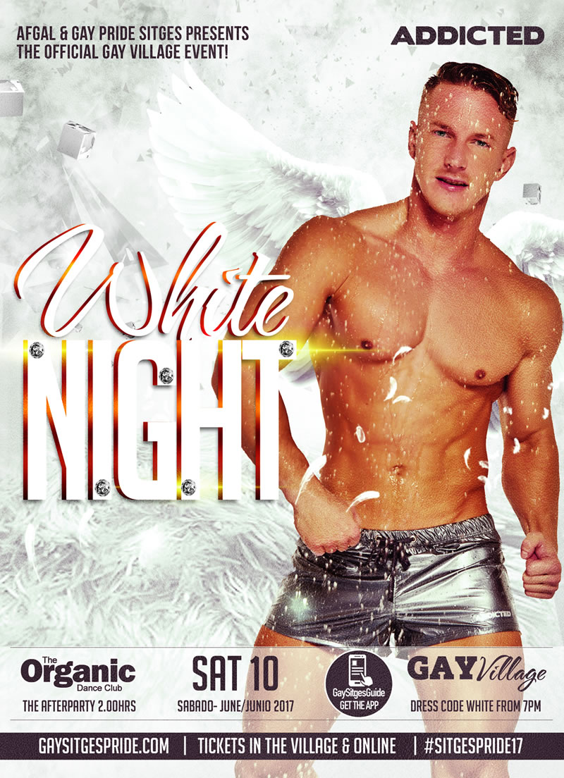 Sitges Pride White Night 2017