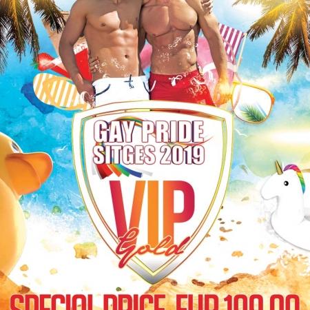Gay Pride Sitges 2019 VIP Pass